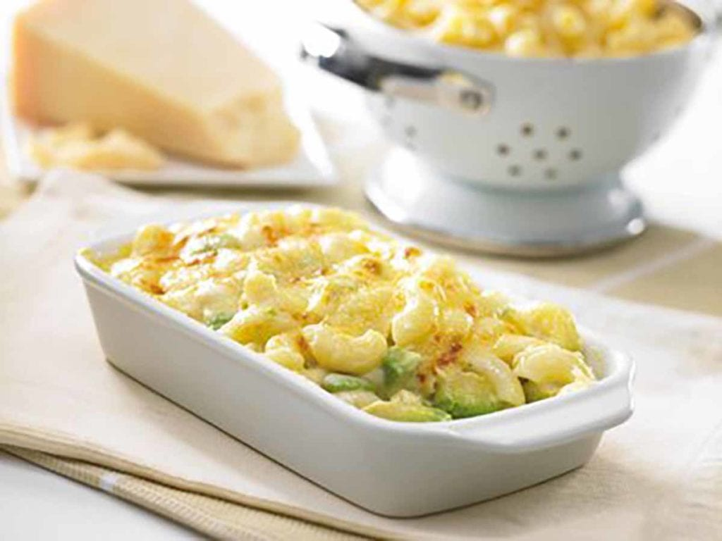 Avocado Macaroni & Cheese Bake