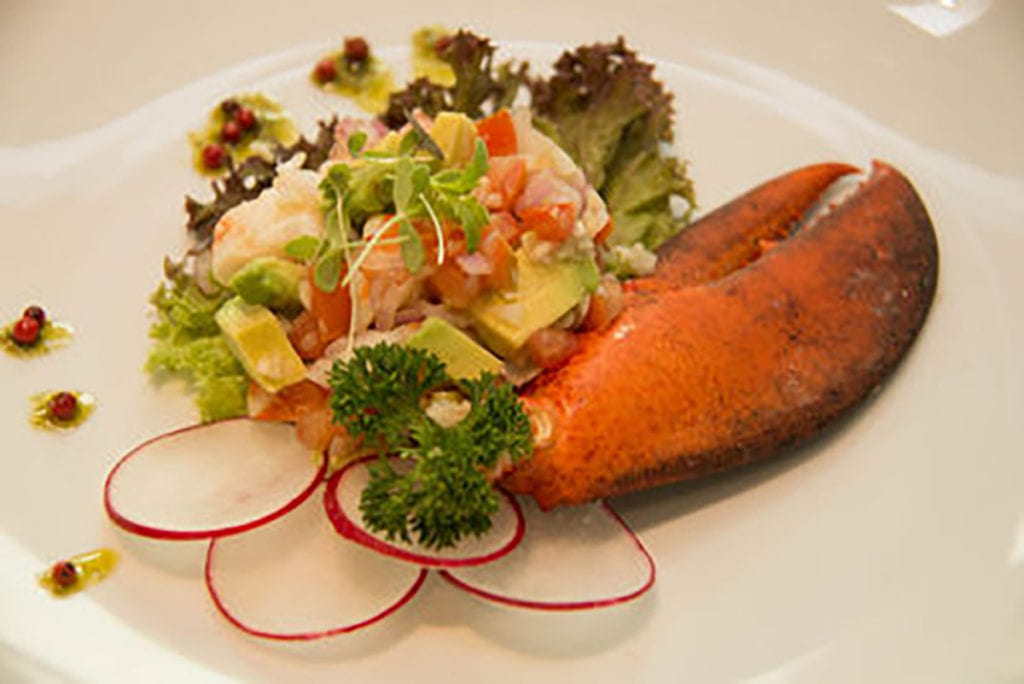 Avocado Seafood Salad