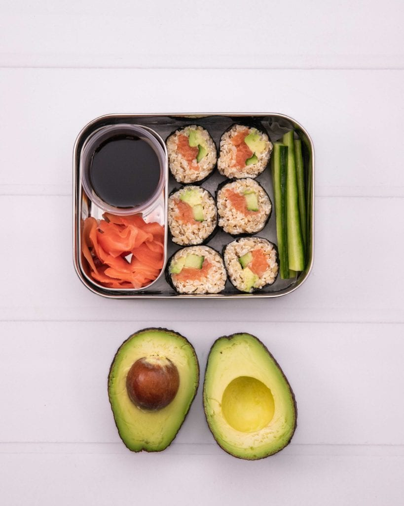Cheat Sushi (5 Kids snacks & lunch box planning)
